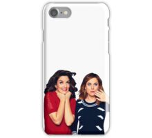 Tina Fey & Amy Poehler iPhone Case/Skin