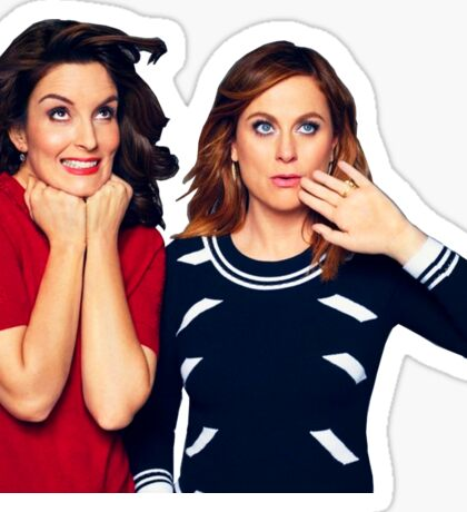 Tina Fey & Amy Poehler Sticker