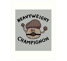 Heavyweight Champignon Art Print