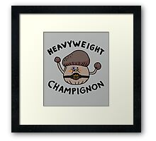 Heavyweight Champignon Framed Print
