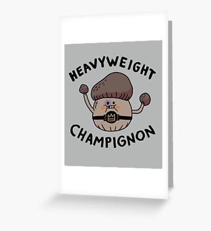 Heavyweight Champignon Greeting Card