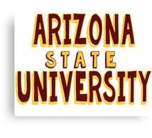 Arizona State University Canvas Print