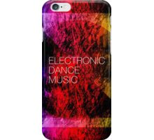 Electronic Dance Music iPhone Case/Skin