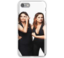 Tina Fey and Amy Poehler  iPhone Case/Skin