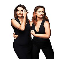 Tina Fey and Amy Poehler  Photographic Print