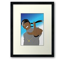 Anime Hiphop Framed Print