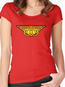 Buckaroo Banzai Wings v2 Women's Fitted Scoop T-Shirt