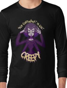 Nu Goth Monster Girl Long Sleeve T-Shirt