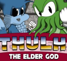 Cthulhu The Elder God 2 Sticker