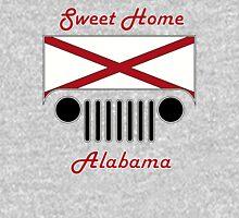 Sweet Home Alabama Flag Jeep Logo Unisex T-Shirt