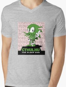 Cthulhu The Elder God Mens V-Neck T-Shirt