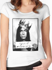 iggy pop Women's Fitted Scoop T-Shirt