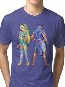Extra Characters SOTN Vintage Pixels Tri-blend T-Shirt