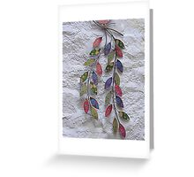 Celtic Wall Decoration Greeting Card