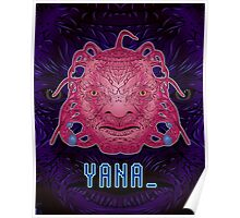Y A N A _ Face of Boe (Doctor Who) Poster