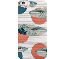 Whale and Polka Dots iPhone Case/Skin