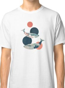 Whale and Polka Dots Classic T-Shirt