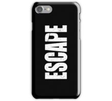 Escape iPhone Case/Skin