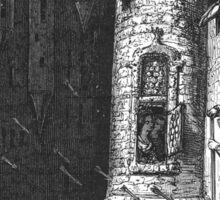 Ambushed Gentleman – The High Constable's Wife (Balzac, Honoré de) Sticker