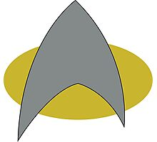 Star Trek Badge Photographic Print