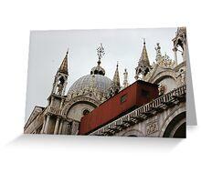 St.Mark's Basilica Greeting Card