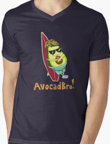avocadbro Mens V-Neck T-Shirt