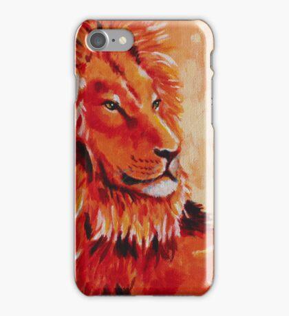 Lion Portrait iPhone Case/Skin
