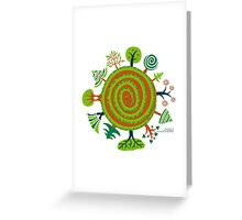 Timeless Trees  Greeting Card