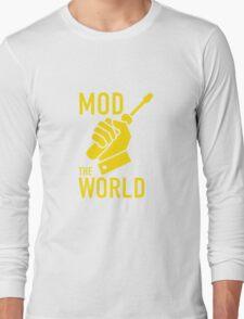 Mod The World Long Sleeve T-Shirt