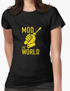 Mod The World Womens Fitted T-Shirt