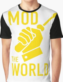Mod The World Graphic T-Shirt