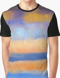 Impressionist Summer beach ocean Graphic T-Shirt