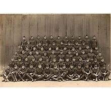 World War 1 Era United States Marines, Cowgill, Missouri Photographic Print