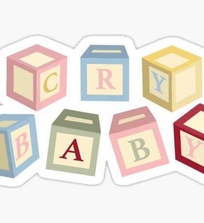 Letter Blocks Sticker