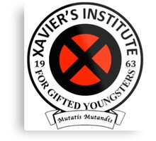 Xavier's Institute for Gifted Youngsters Metal Print