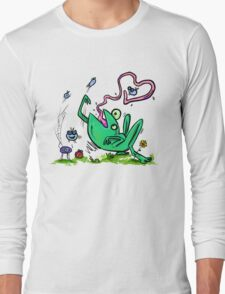 Froggy Banquet Of Love Long Sleeve T-Shirt