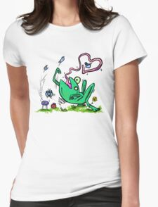Froggy Banquet Of Love Womens Fitted T-Shirt