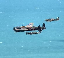 BBMF Formation by Nigel Bangert