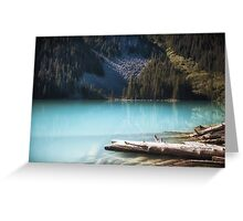 Middle Joffre Lake - Joffre Lakes Provincial Park -  British Columbia Greeting Card