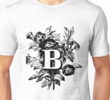 Plant Alphabet Letter B Unisex T-Shirt