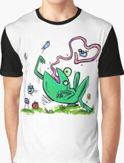 Froggy Banquet Of Love Graphic T-Shirt