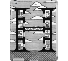 Letter H Architecture Section Alphabet iPad Case/Skin
