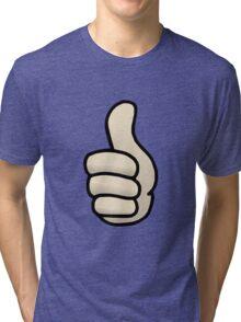 Thumbs Up Tri-blend T-Shirt