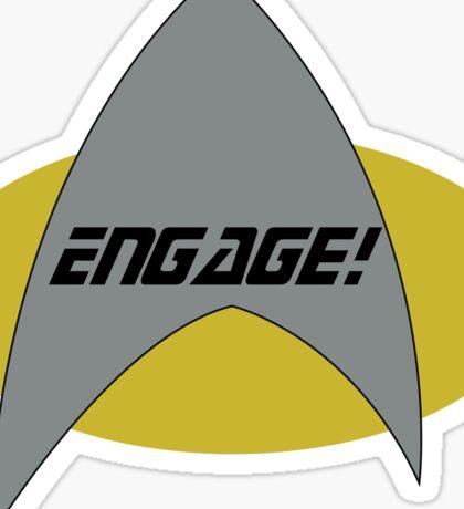 Engage! Sticker