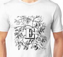 Plant Alphabet Letter E Unisex T-Shirt