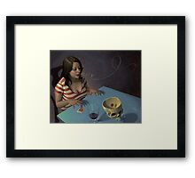 Boggled Framed Print