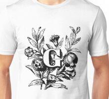 Plant Alphabet Letter G Unisex T-Shirt