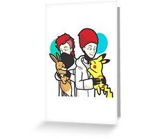 21 mashup poke Greeting Card
