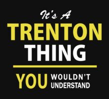 It's A TRENTON thing, you wouldn't understand !! by satro