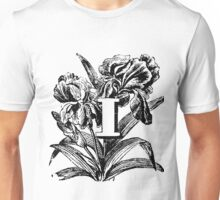 Plant Alphabet Letter I Unisex T-Shirt